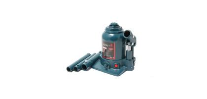 Домкрат бутылочный двухштоковый с клапаном + доп. рем. к-т, 4т (h min - 160мм, h max - 390мм, ход штока - 170мм) Forsage F-TF0402