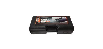 Домкрат подкатной гидравлический 2.5т низкопрофильный с поворотной ручкой 360° (h min 89мм, h max 359мм), в кейсе Forsage F-T825010R(2.5т в кейсе)