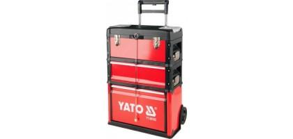 """Тележка 3-х сегментная металлическая 52X32X72см """"Yato"""" YT-09102"""