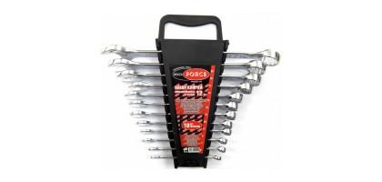 Набор ключей комбинированных 12пр. в пластиковом держателе (6-14, 17,19, 22мм) Rock FORCE RF-5122MP