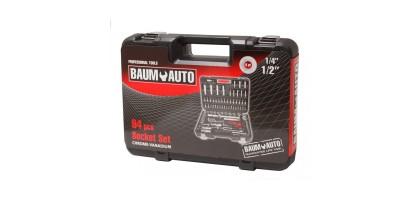 Набор инструментов 94 предмета 1/2'' 1/4'' BaumAuto BM94
