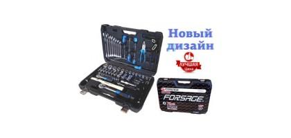 """Набор инструментов 72 предмета 1/4"""" 1/2"""" Forsage F-4722-5"""