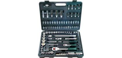 """Набор инструментов 108 предметов с 12-ти гранными головками 1/2"""" & 1/4"""" FORCE (41082R-12)"""