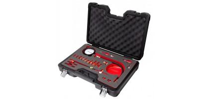 """Тестер давления топлива 0-140 psi,0-10 bar,в кейсе""""Premium"""" Forsage F-919G1AD"""