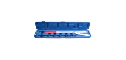Набор инструментов для фиксации шкивов (рабочий диапазон 40-220мм, диаметры штифтов: 6, 8, 10, 16мм) 11пр., в кейсе Rock FORCE RF-911G1