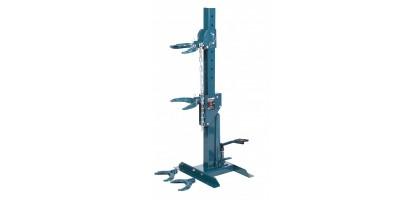 Стяжка пружин гидравлическая напольная с двумя комплектами получаш (макс. усилие 1т, рабочий диапазон 210-570мм ) Forsage F-1500-5